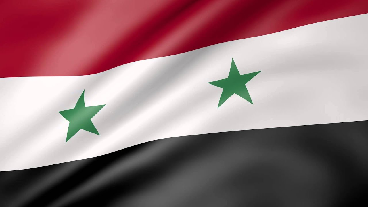Syria Animated Flag YouTube - Syria flag