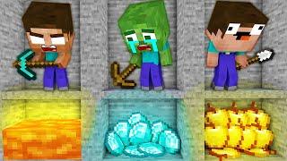 Monster School : Poor Baby Herobrine and Bad RED Herobrine All Episodes SEASON 1 Minecraft Animation