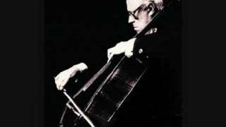 Rostropovich plays Shostakovich Cello Concerto No. 1 - 2/4