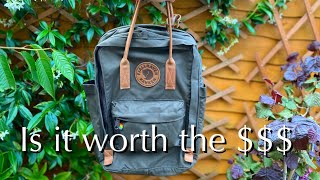 Fjallraven Kanken 15 n.2 Laptop Backpack review - 6 month in, is it worth the money?