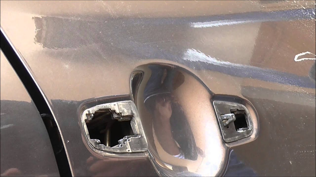 2008 toyota corolla how to replace outside car door handle