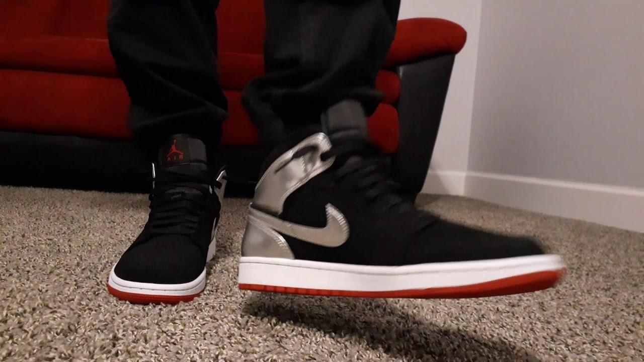Air Jordan 1 mid Johnny Kilroy on feet - YouTube