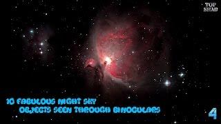 10 Fabulous Night Sky Objects Seen Through Binoculars