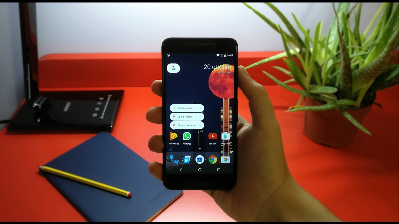 Nexus 5x Nougat
