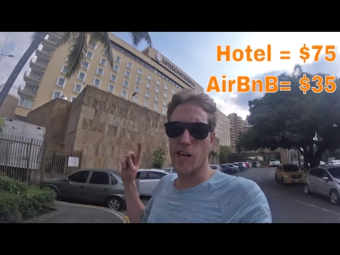 AirBnb or Hotel in Cali, Colombia
