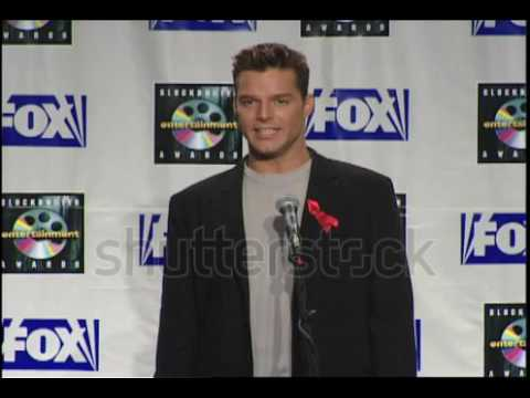 Ricky Martin at The Blockbuster Awards in Los Angeles, California on May 25, 1999.