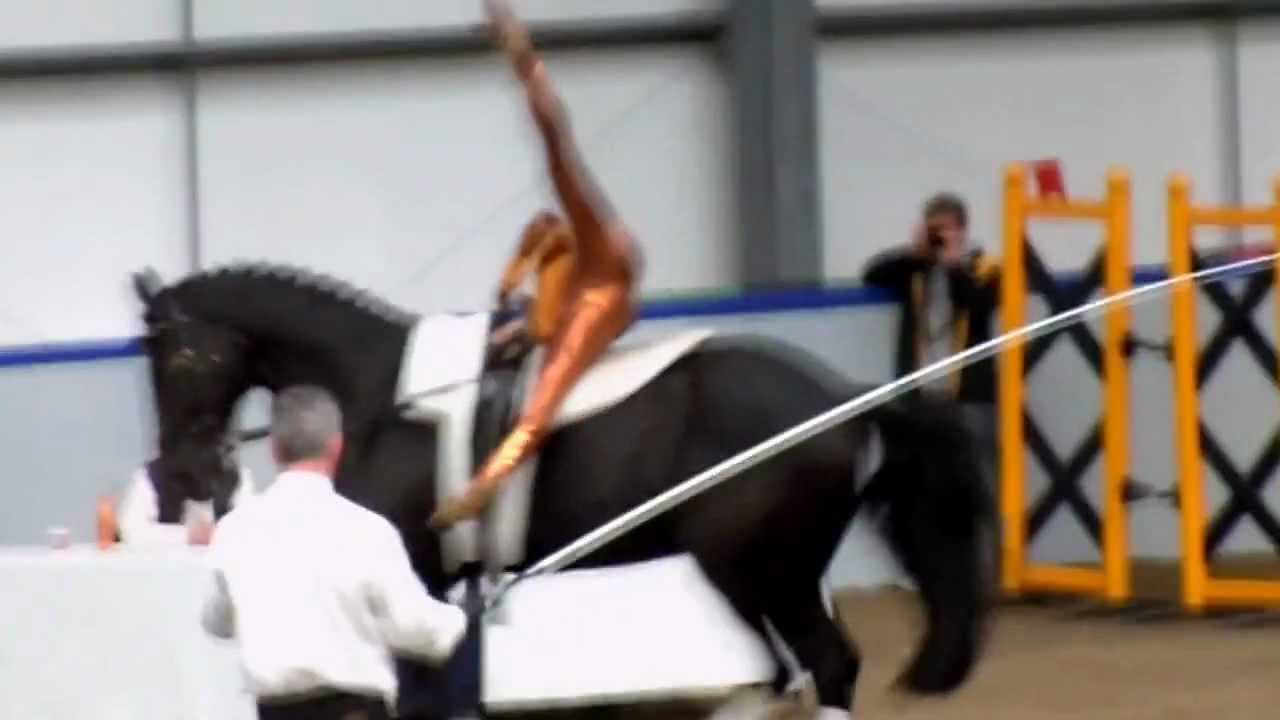 World Champion In Equestrian Vaulting 12 5 2012 Youtube