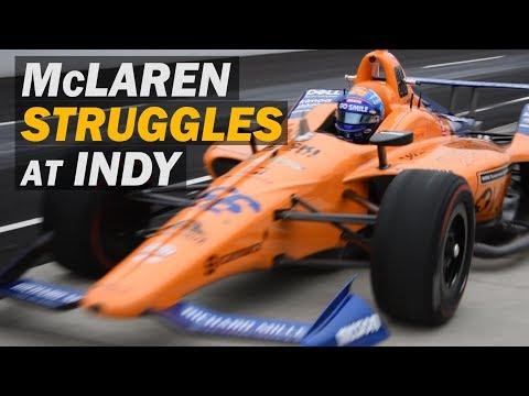 McLaren STRUGGLES in Indy 500 Testing