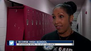 Students work to stop violence