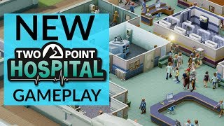Two Point Hospital PC Gameplay | How Does It Compare To Theme Hospital?