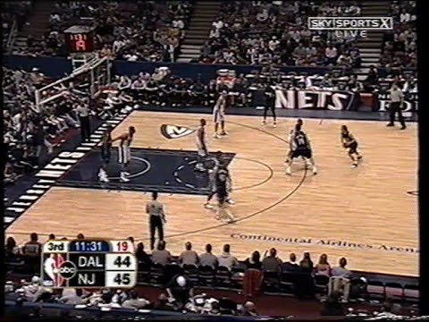 Dallas Mavericks   New Jersey Nets (21 03 2004) - YouTube f4159328f