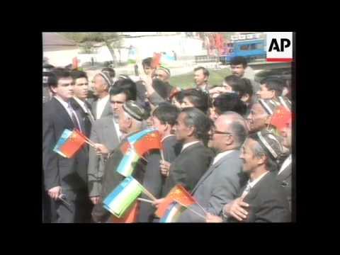 Uzbekistan - Karimov's Presidency Referendum