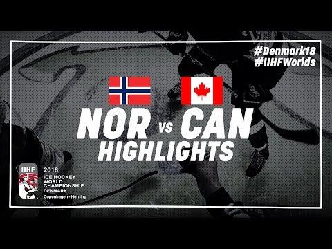 Game Highlights: Norway vs Canada May 10 2018 | #IIHFWorlds 2018