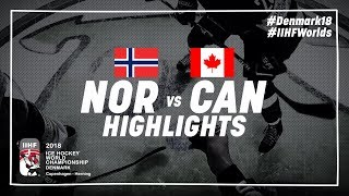 Game Highlights: Norway vs Canada May 10 2018 | #IIHFWorlds 2018