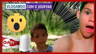 Levei meu irmãozinho numa aventura na mata  - Vlogando com o Jodryan | OrbTV