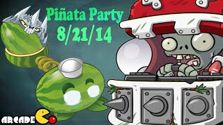 Plants Vs Zombies 2: Dark Ages Spike Rock August 21 Piñata Party