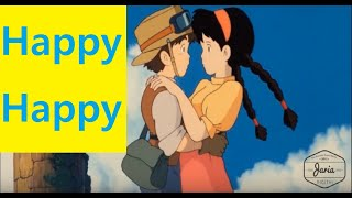 Happiest Scenes from Hayao Miyazaki (Studio Ghibli) Movies