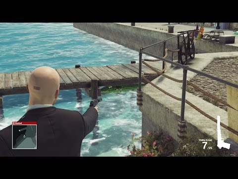Hitman - Sapienza - Investigator Challenge & Eye For An Eye Assassination