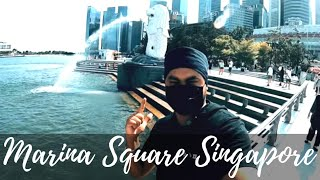Vlog #136 | Merlion Park | Art &  Science Museum | Marina Square | Singapore | Punjabi Travel Vlog