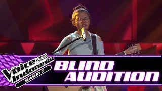 Evelyn - Lost Stars | Blind Auditions | The Voice Kids Indonesia Season 3 GTV 2018