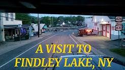 A Visit to Findley Lake, NY