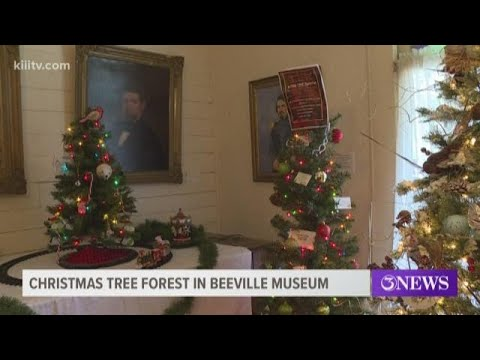 25 Christmas trees on display at Beeville's McLanahan House