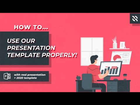 Easy Steps To Use Powerpoint Template For Presentation With 2020 Signature Powerpoint Template Youtube