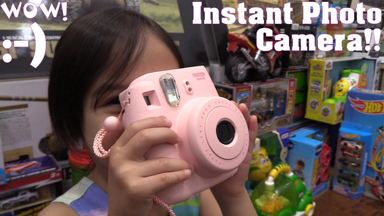 instax mini 8 how to use