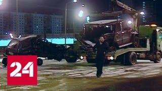 Смотреть видео Виновник смертельного ДТП на Можайке доставлен в Москву - Россия 24 онлайн