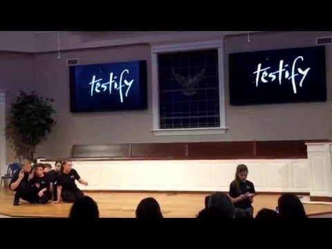 Testify, pathfinders from Willow Brook SDA church, performed at Frederick Adventist Academy - 2