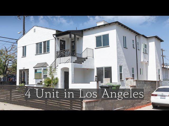 [Virtual Tour]  4 Unit in Los Angeles l 1855 S Mansfield Ave