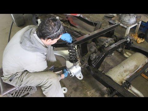 1970 Triumph TR6 Restoration Project - Part 14 - Rear Suspension