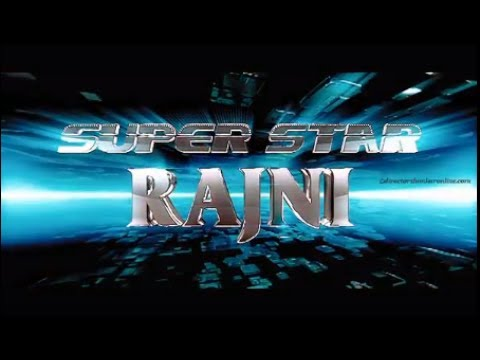 Superstar Rajinikanth Title Cards