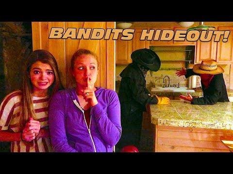 Sneak Into The Bandits Hideout With That YouTub3 Family!