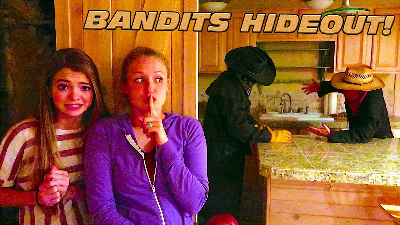 Download Sneak Into The Bandits Hideout With That YouTub3 Family!
