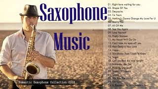 Top 30 Instrumental Love Songs Collection: Saxophone, Piano