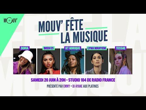 Youtube: Mouv' fête la musique avec  Doria, Imen ES, KT Gorique, Lyna Mahyem et Tessæ