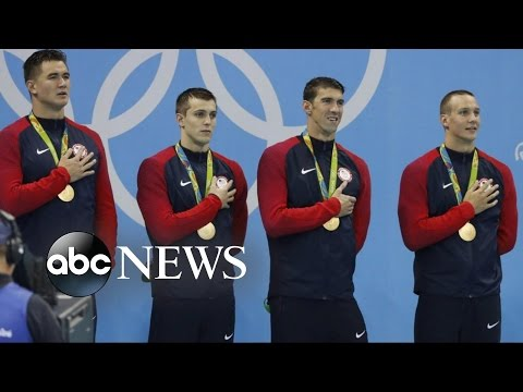 Olympic Athletes Earn Their Place in History