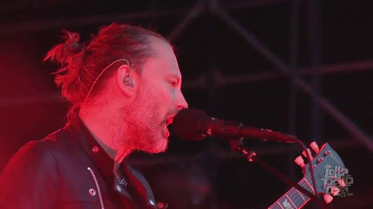 Resultado de imagen de Radiohead Live Lollapalooza Chicago 2016 Full Show HD