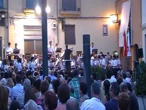 Concert banda Tot per la Musica. 22/08/2012