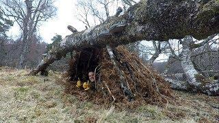 Bushcraft Basics 2: Shelter (Making a Debris Hut)