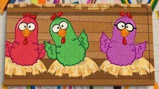 Galinha Pintadinha Mini| image Jigsaw Puzzle Toys For Kids Rompecabezas Learning 1