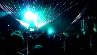 Aphex Twin (part 3 of 9) - Computer Madness \ Emanon \ Lock up - LED Festival 2010