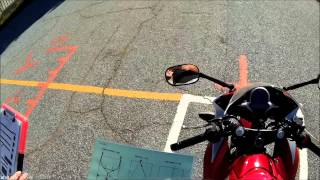 Motorcycle License Road Test