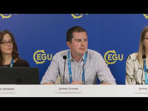 EGU2017: Polar regions: Arctic sea ice, Antarctic ice-shelf