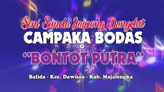 """CINTA SENGKETA - JAIPONG DANGDUT CAMPAKA BODAS """"BONTOT PUTRA"""" Live Pamulihan 2018"""