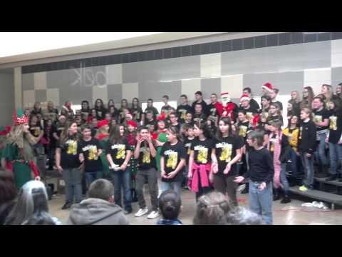 Wurtland Middle School Chorus~ 2012 under the direction Kathy Saltsman
