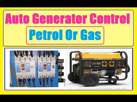 Auto start and stop Generator control circuit  YouTube