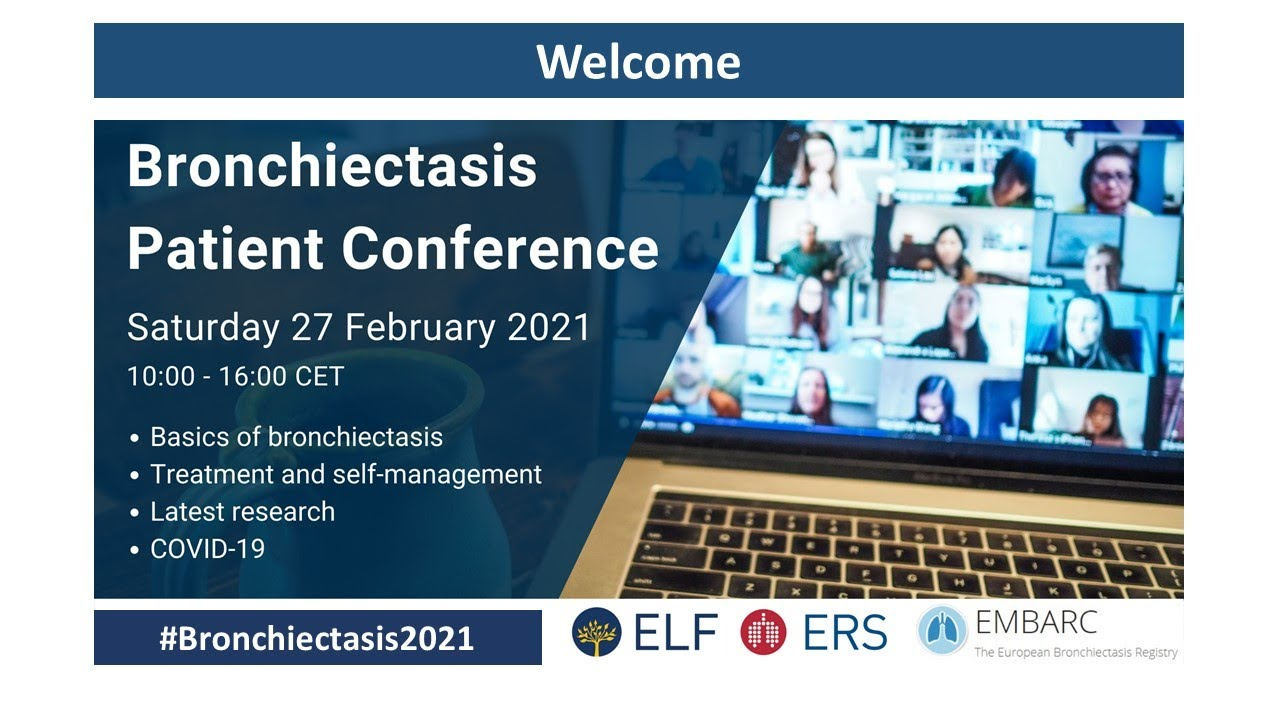Download ELF EMBARC Bronchiectasis Patient Conference 2021 - Session 2: Treatment and self-management