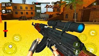 Modern Terrorist Attack Final Call of War FPS Game ▶️ Android GamePlay HD - Action Games Android